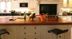 Traditional kitchen surface